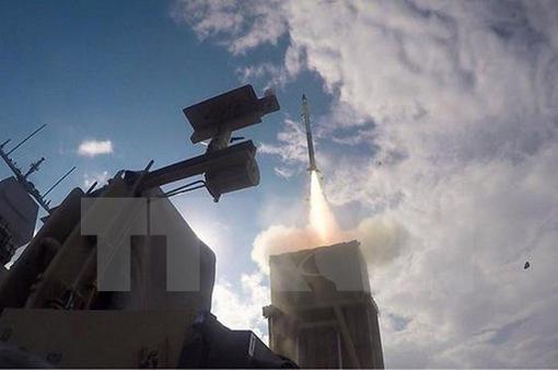Israel đánh chặn thành công tên lửa từ Palestine