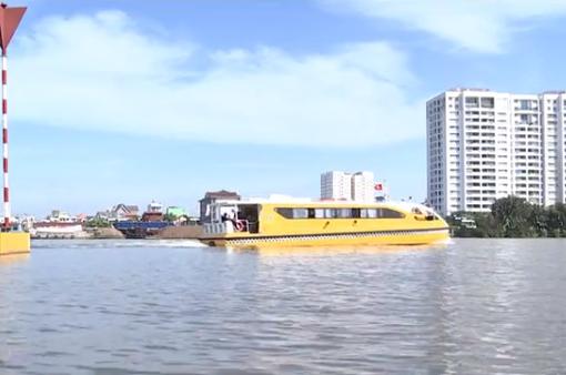 Tiềm năng vận tải hành khách bằng đường thủy ở TP.HCM
