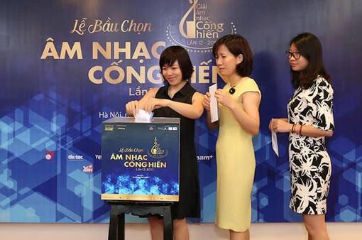 Tổ chức lễ trao Giải Âm nhạc cống hiến 2017 tại TP.HCM