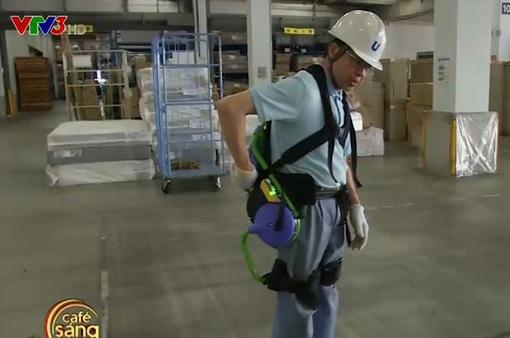 Áo giáp robot trợ lực cho lao động cao tuổi