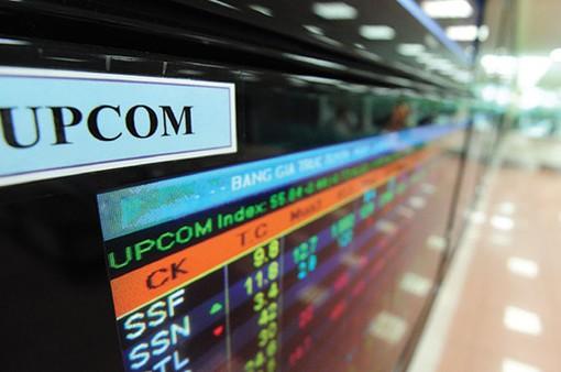 Hàng loạt doanh nghiệp lên sàn UPCoM