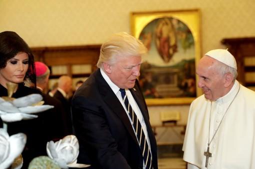 Tổng thống Mỹ Donald Trump gặp Giáo hoàng