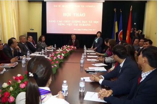 """""""Nâng cao chất lượng dạy và học tiếng Việt tại Ukraine"""""""