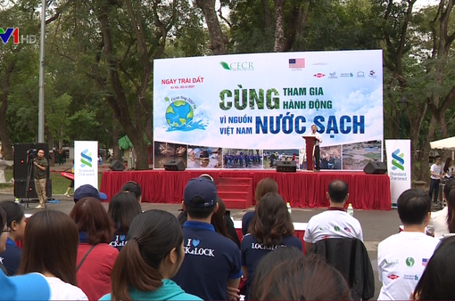 Việt Nam hưởng ứng ngày Trái đất