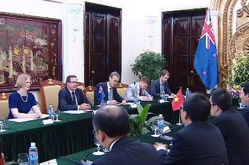 Tăng cường hợp tác Việt Nam - New Zealand