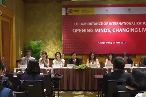 Hợp tác giáo dục Việt Nam - Tây Ban Nha