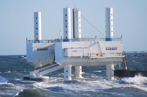 Thiết bị Wavestar thu năng lượng từ sóng biển