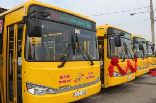 Dự kiến thay hàng loạt xe bus chất lượng kém tại TP.HCM