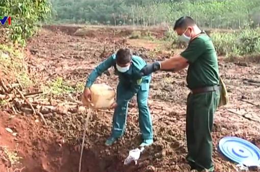 Bình Phước: Xử lý chất độc tồn dư trong chiến tranh