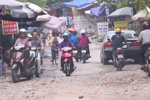 Khó khắc phục con đường xuống cấp nhiều năm tại Thái Nguyên