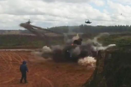 Sự cố trong khi tập trận ở Nga khiến 1 người bị thương nặng