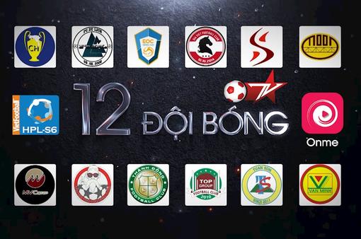 VTVcab sản xuất và phát sóng trực tiếp 66 trận đấu tại Giải Ngoại hạng Hà Nội mùa 6 (HPL – S6)