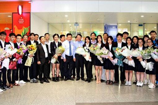 Vinh danh tác giả 2 dự án đạt giải tại Hội thi khoa học kĩ thuật quốc tế - Intel ISEF 2018