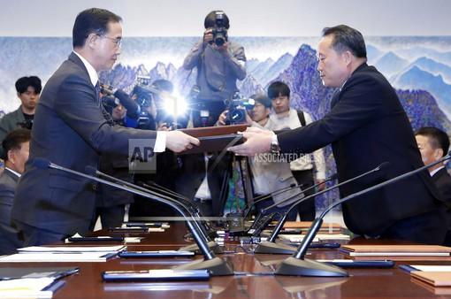 Cuối năm 2018, hai miền Triều Tiên khởi động dự án đường sắt chung