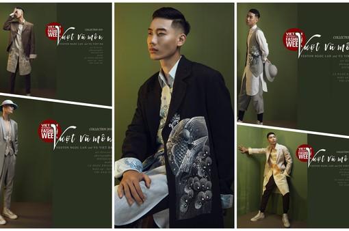 """NTK Việt """"Vượt vũ môn"""" trên sàn diễn Tuần lễ thời trang quốc tế Việt Nam Thu - Đông 2018"""