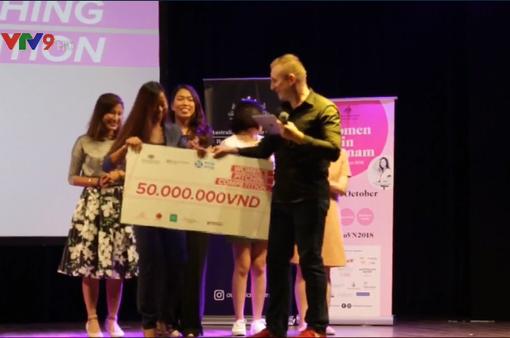 Tổ chức cuộc thi khởi nghiệp dành riêng cho phụ nữ Việt Nam