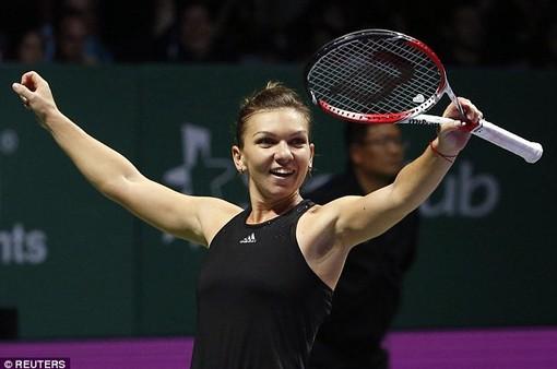 Simona Halep kết thúc mùa giải 2018 với vị trí số 1 thế giới