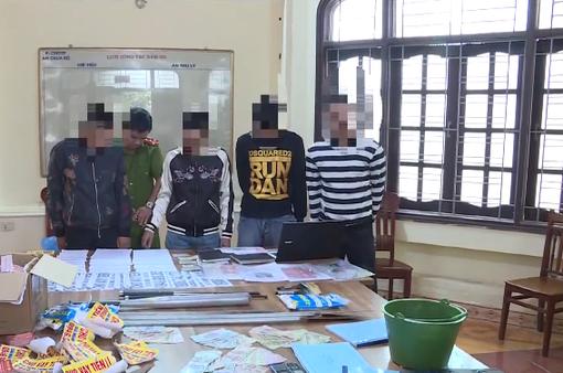 Hưng Yên: Khởi tố 5 đối tượng cho vay lãi nặng