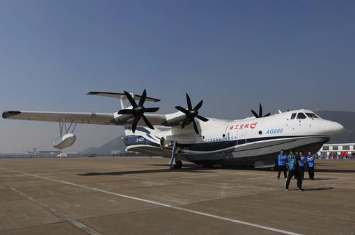 Trung Quốc: Thủy phi cơ cỡ lớn hoàn thành thử nghiệm trên mặt nước với tốc độ cao