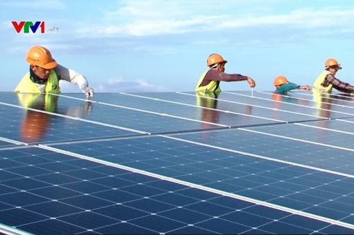 Hoàn thiện dự thảo đấu thầu điện mặt trời