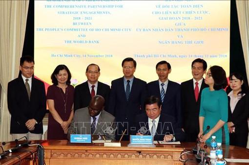 TP.HCM  và Ngân hàng Thế giới tăng cường hợp tác giai đoạn 2018-2020