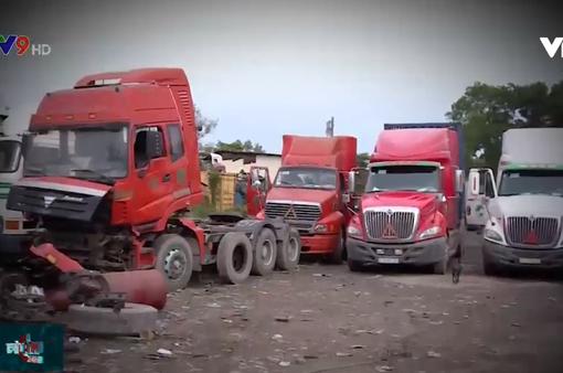 Không có chỗ đỗ, hơn 1.000 xe container không biết đi đâu về đâu