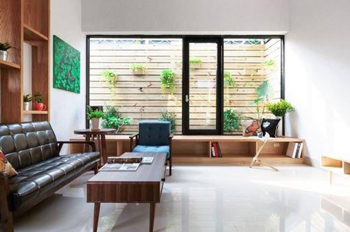 Cải tạo ngôi nhà cũ thành không gian sống hiện đại