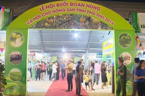 Lần đầu tiên tỉnh Phú Thọ tổ chức Lễ hội bưởi Đoan Hùng