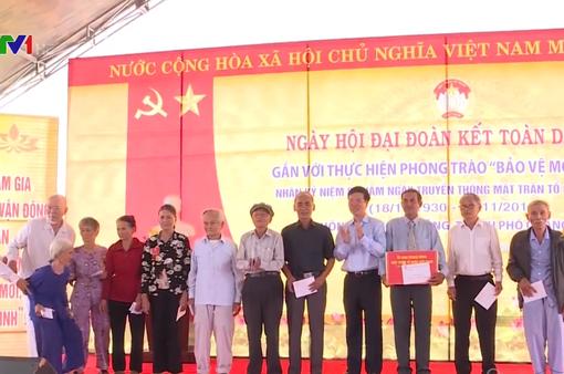 Sôi nổi Ngày hội Đại đoàn kết dân tộc tại các địa phương