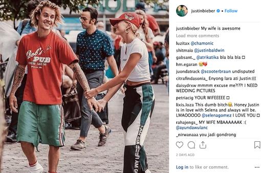 Justin Bieber đã lấy vợ