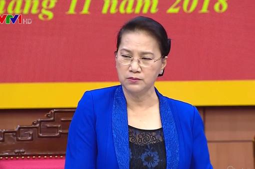 Chủ tịch Quốc hội đánh giá cao nỗ lực của Thái Bình trong xóa đói giảm nghèo