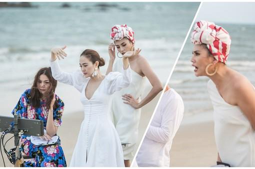 """The Face Vietnam 2018: Minh Hằng """"lầy lội"""" mô phỏng điệu nhảy King Kong, Võ Hoàng Yến lại nổi đóa với học trò"""