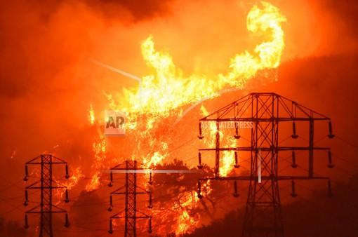 Xác định thủ phạm gây cháy rừng tại California