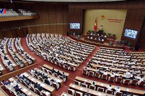 Quốc hội thông qua 5 Luật