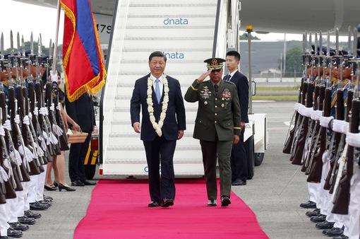 Chủ tịch Trung Quốc Tập Cận Bình thăm Philippines
