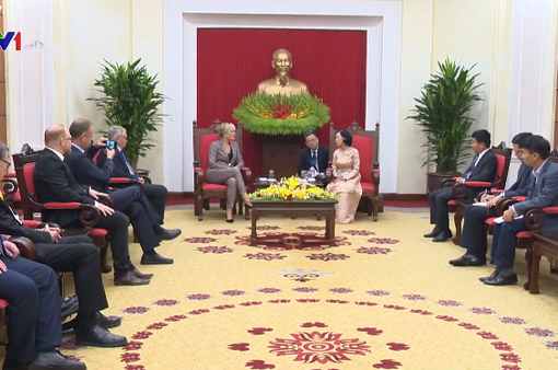 Việt Nam coi trọng và ưu tiên phát triển quan hệ hợp tác với Cộng hòa Liên bang Đức