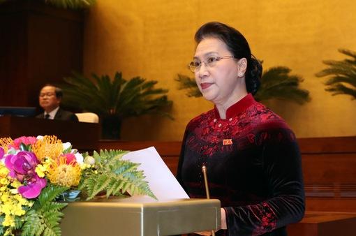 Toàn văn phát biểu bế mạc kỳ họp thứ 6 của Chủ tịch Quốc hội Nguyễn Thị Kim Ngân