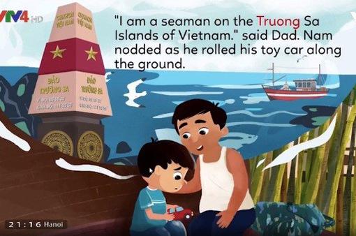 Ứng dụng dạy tiếng Anh cho trẻ em về biển đảo