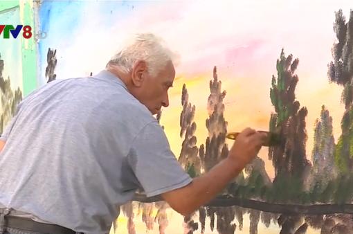 Những bức tranh tường trong trại tị nạn ở Lebanon