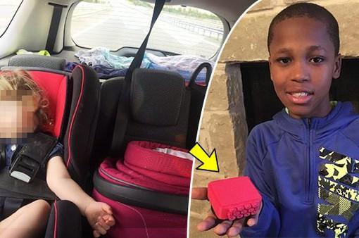 Phát minh thiết bị cứu sống trẻ bị bỏ quên trên xe ô tô