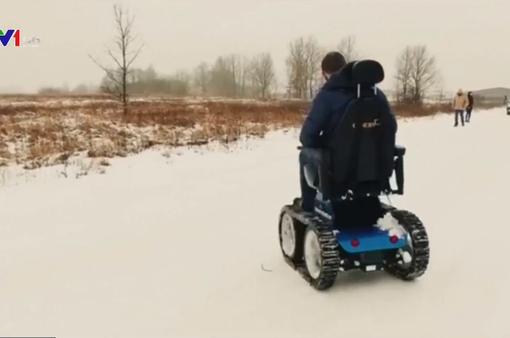Thiết kế thành công xe lăn địa hình