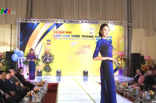 Khai mạc Hội chợ thời trang Việt Nam 2018
