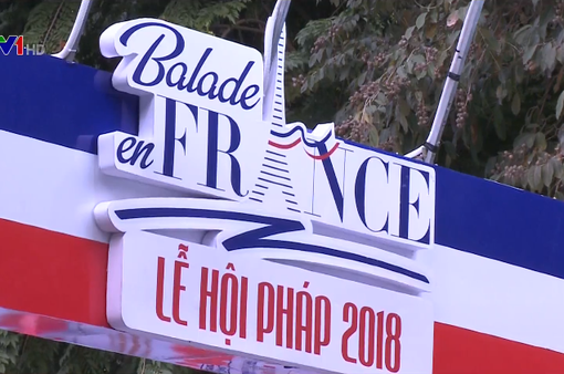 Lễ hội Pháp tại phố đi bộ Hà Nội