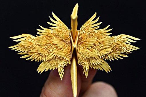Mê mẩn ngắm những kiệt tác hạc giấy của nghệ thuật gấp giấy Origami