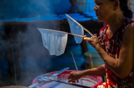 Tham quan làng bánh ướt Lựu Bảo của xứ Huế