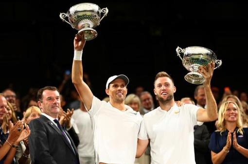 Mike Bryan & Jack Sock được ITF tôn vinh