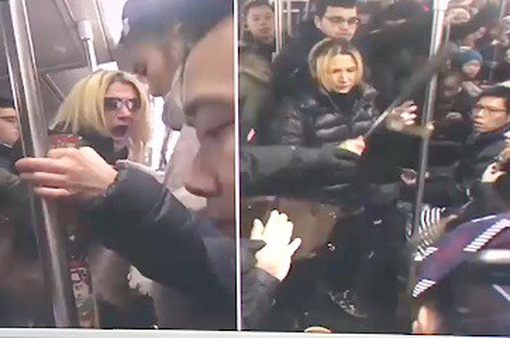 Mỹ: Bắt phụ nữ 40 tuổi hành hung cô gái gốc Á trên tàu điện ngầm