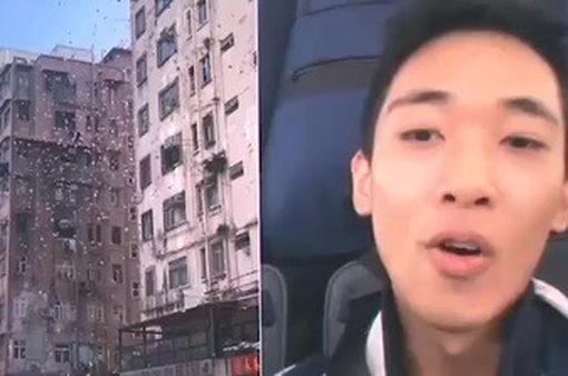 """Hong Kong (Trung Quốc) bắt """"siêu anh hùng công lý"""" rải tiền gây náo loạn đường phố"""