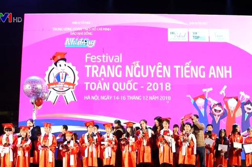 Gần 3.000 bài dự thi Festival Trạng nguyên tiếng Anh toàn quốc 2018