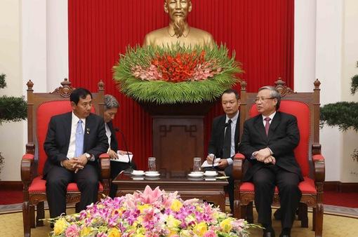 Việt Nam - Myanmar đẩy mạnh hợp tác, chia sẻ kinh nghiệm xây dựng và phát triển đất nước